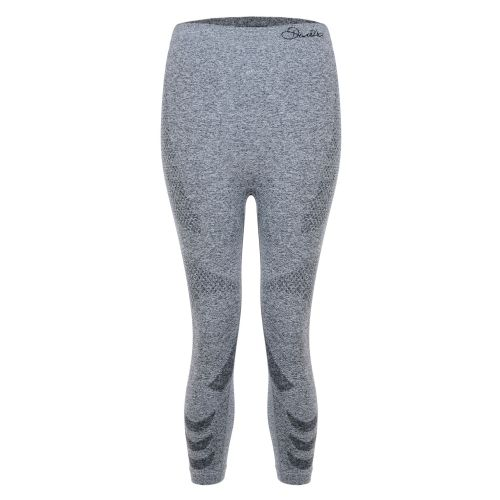 Dare2b WOMEN'S ZONAL III 3/4 LEGGING BASE LAYER PANTS - Charcoal Grey